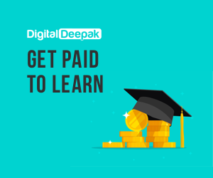 Get paid to learn Digital Marketing